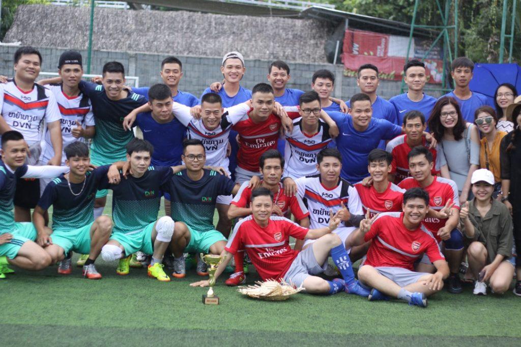 Giải đấu DVN League 2017: Ngôi vương gọi tên chi nhánh Hà Nội 8