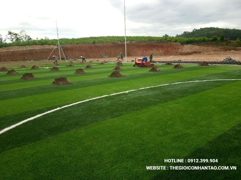 Một số hình ảnh của Dự án sân bóng tạo Nam Đàn - Nghệ An 10