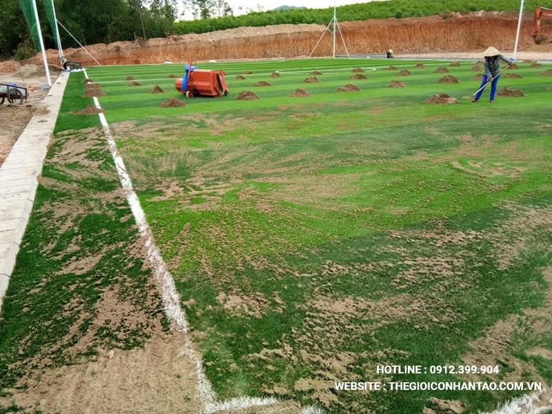 Một số hình ảnh của Dự án sân bóng tạo Nam Đàn - Nghệ An 11