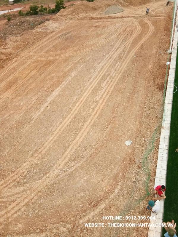 Một số hình ảnh của Dự án sân bóng tạo Nam Đàn - Nghệ An 12