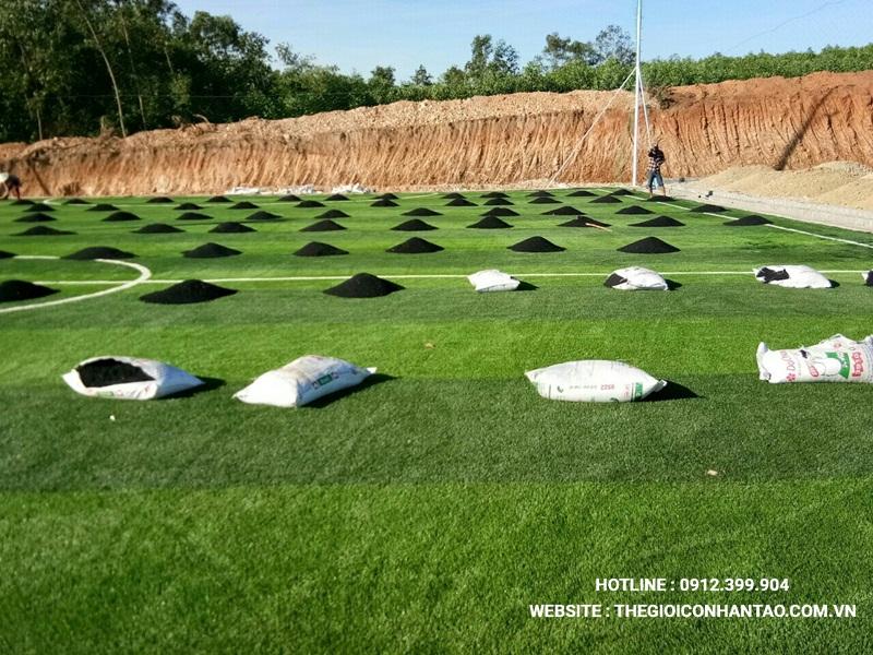 Một số hình ảnh của Dự án sân bóng tạo Nam Đàn - Nghệ An 14