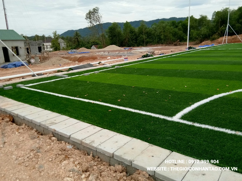 Một số hình ảnh của Dự án sân bóng tạo Nam Đàn - Nghệ An 3