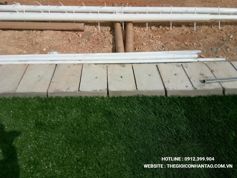 Một số hình ảnh của Dự án sân bóng tạo Nam Đàn - Nghệ An 4