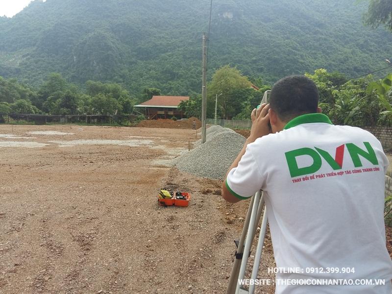 Một số hình ảnh của Dự án sân bóng tại Võ Nhai - Thái Nguyên 1