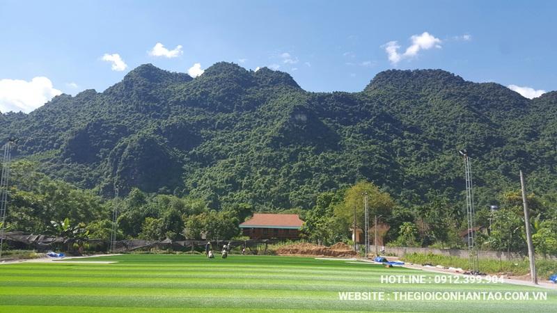 Một số hình ảnh của Dự án sân bóng tại Võ Nhai - Thái Nguyên 10