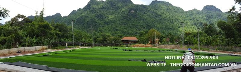 Một số hình ảnh của Dự án sân bóng tại Võ Nhai - Thái Nguyên 11