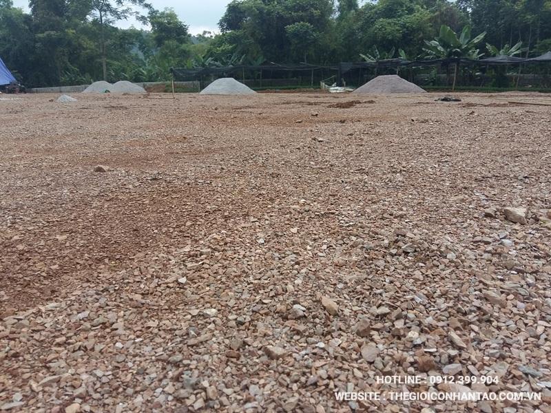 Một số hình ảnh của Dự án sân bóng tại Võ Nhai - Thái Nguyên 2