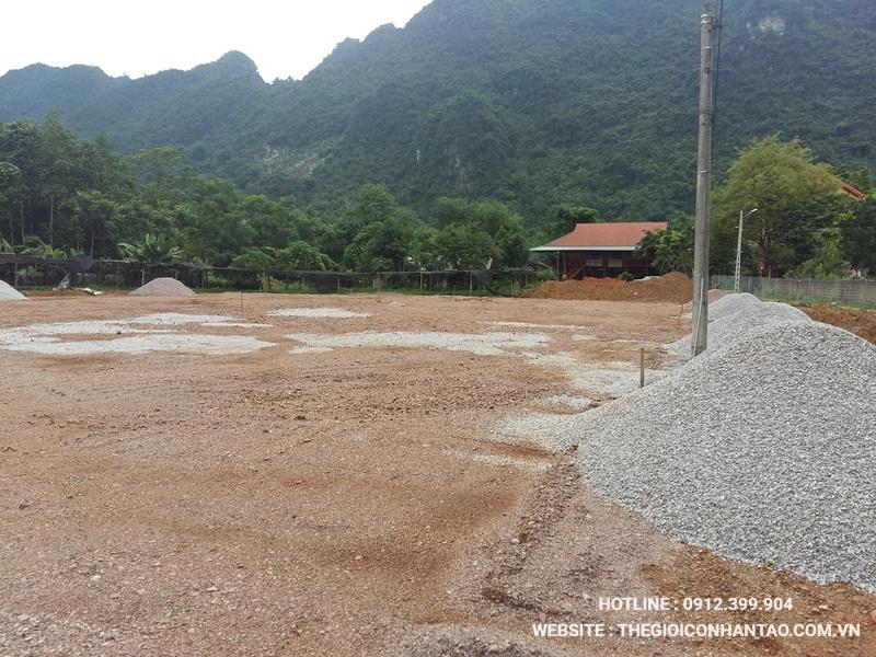 Một số hình ảnh của Dự án sân bóng tại Võ Nhai - Thái Nguyên 3
