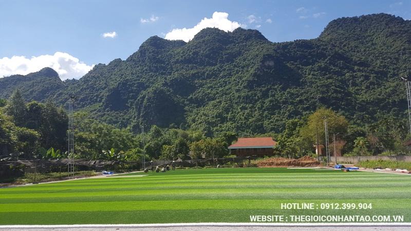 Một số hình ảnh của Dự án sân bóng tại Võ Nhai - Thái Nguyên 5