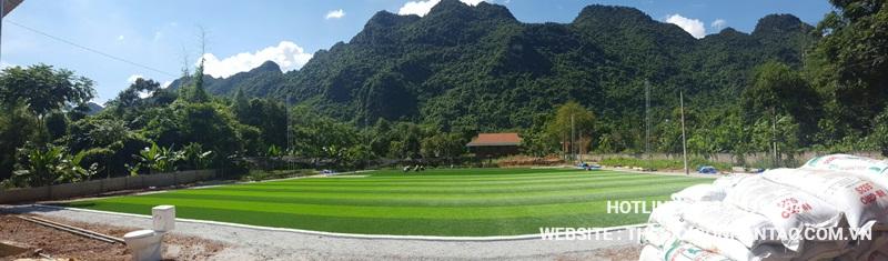 Một số hình ảnh của Dự án sân bóng tại Võ Nhai - Thái Nguyên 6
