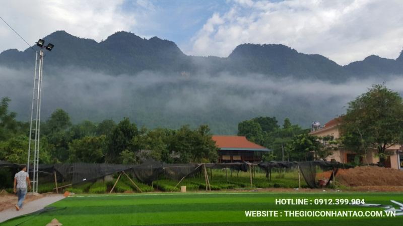 Một số hình ảnh của Dự án sân bóng tại Võ Nhai - Thái Nguyên 7