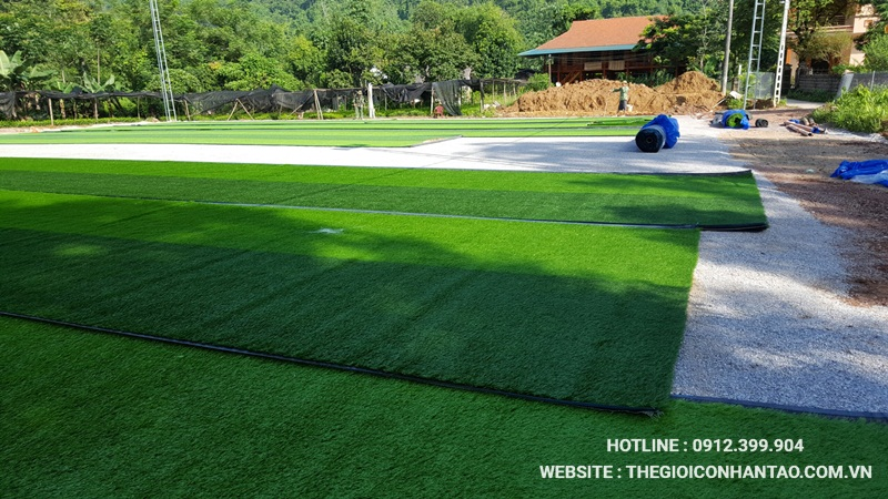 Một số hình ảnh của Dự án sân bóng tại Võ Nhai - Thái Nguyên 8