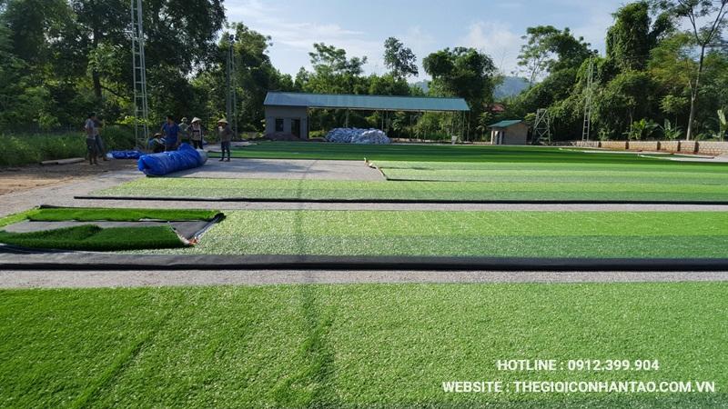 Một số hình ảnh của Dự án sân bóng tại Võ Nhai - Thái Nguyên 9