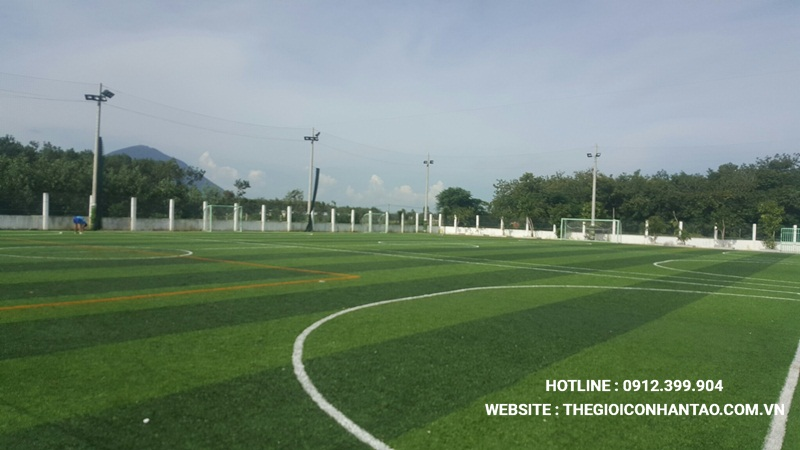Một số hình ảnh của Dự án sân bóng tại Mai Anh - Tây Ninh 3