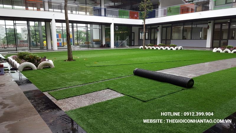 Một số hình ảnh của Dự án Sân vườn trường FTF - Vĩnh Phúc 7