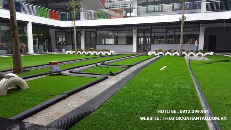 Một số hình ảnh của Dự án Sân vườn trường FTF - Vĩnh Phúc 8
