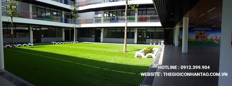 Một số hình ảnh của Dự án Sân vườn trường FTF - Vĩnh Phúc 9