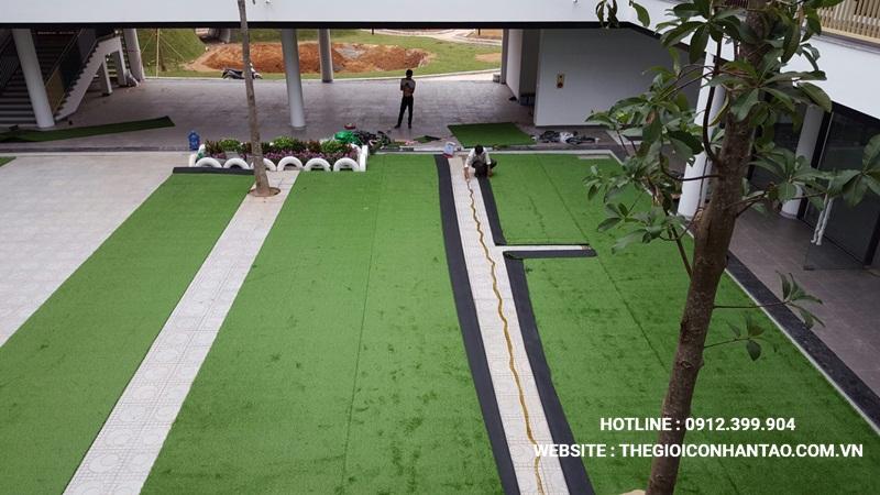 Một số hình ảnh của Dự án Sân vườn trường FTF - Vĩnh Phúc 5