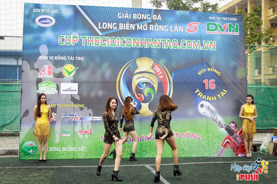 Một số hình ảnh tại lễ khai mạc Giải bóng đá