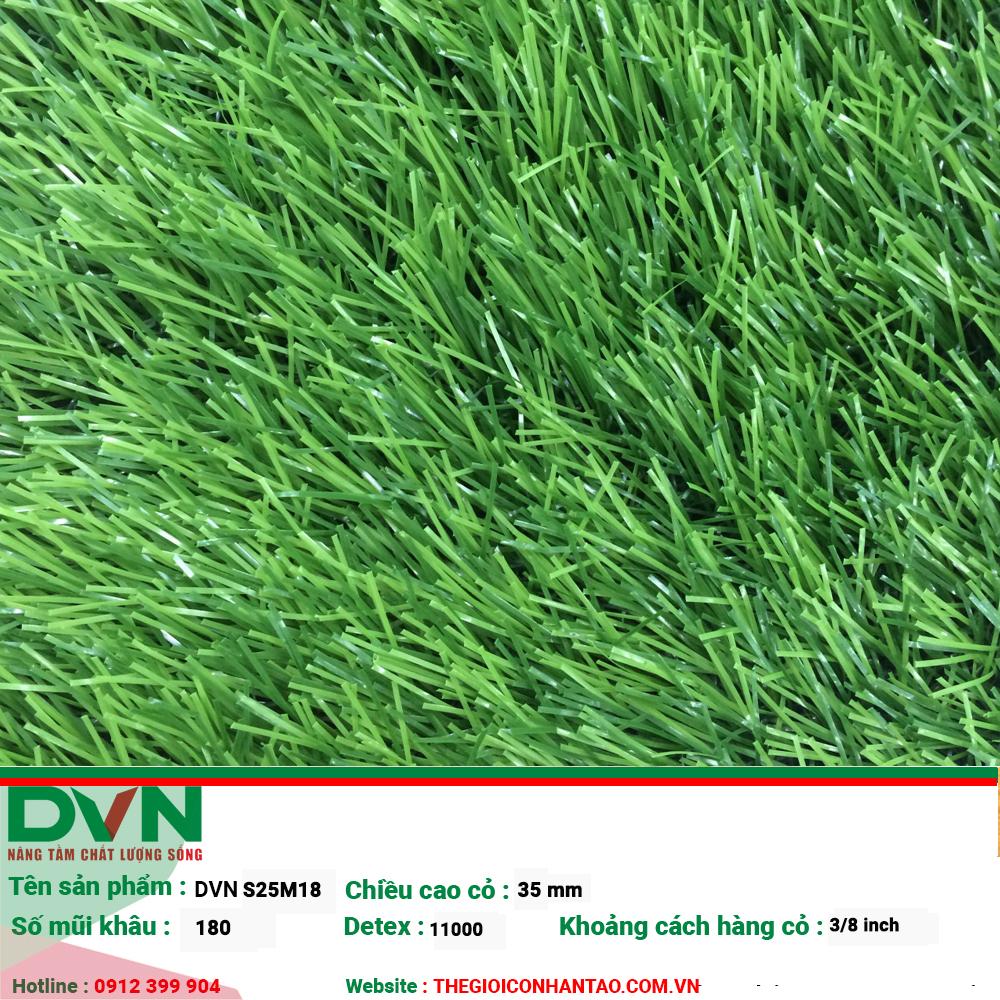 Đặc điểm cỏ nhân tạo sân vườn DVN S25M18 1
