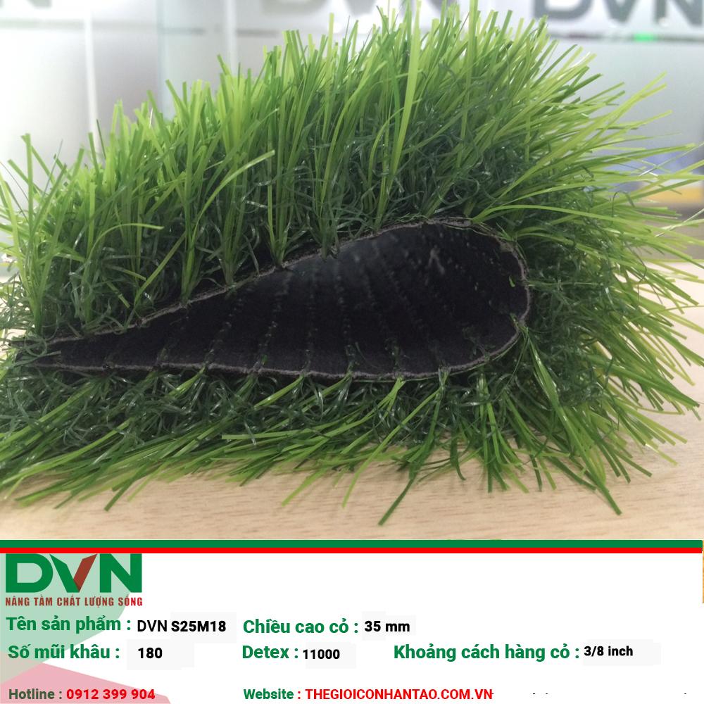 Đặc điểm cỏ nhân tạo sân vườn DVN S25M18 2