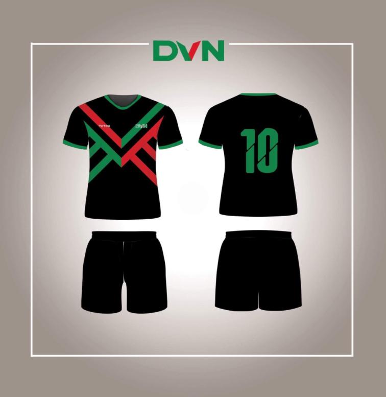 Một số mẫu áo đấu của DVN 2018 3