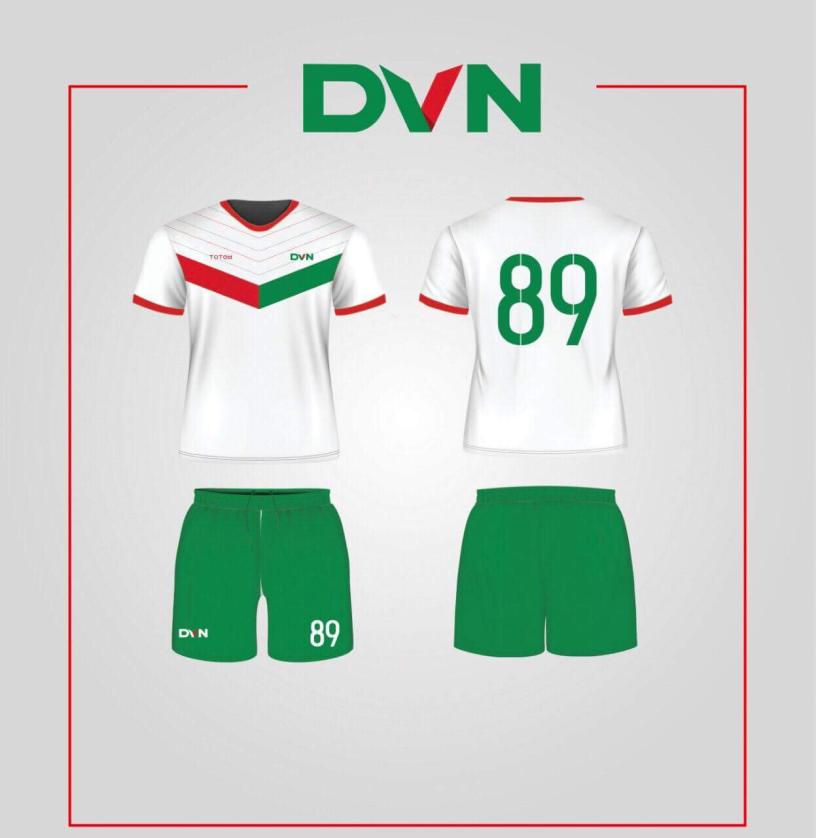 Một số mẫu áo đấu của DVN 2018 4