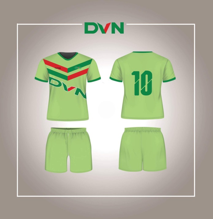 Một số mẫu áo đấu của DVN 2018 5