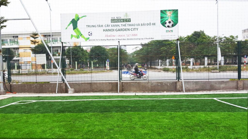 Một số hình ảnh của Dự án sân bóng tại Thạch Bàn, Gia Lâm, Hà Nội 1
