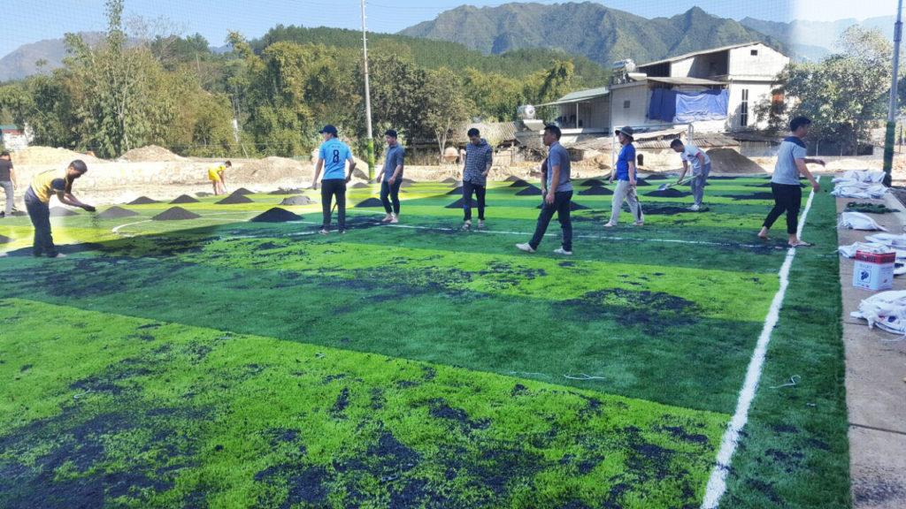 Dự án sân bóng đá cỏ nhân tạo tại Lai Châu 5