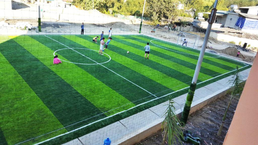 Dự án sân bóng đá cỏ nhân tạo tại Lai Châu 6