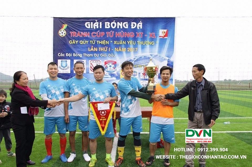 Dự án sân bóng đá tại Việt Yên – Bắc Giang 1