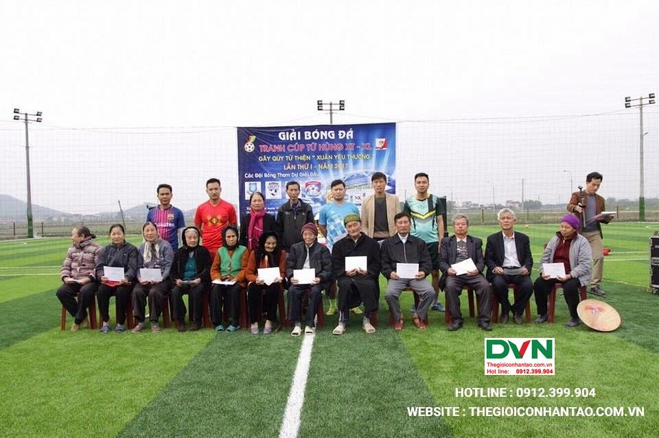 Dự án sân bóng đá tại Việt Yên – Bắc Giang 3