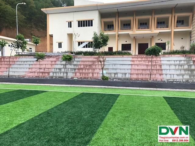 Thi công sân bóng đá cỏ nhân tạo tại Quan Sơn – Thanh Hóa 2
