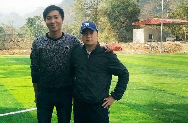 Thi công sân bóng đá cỏ nhân tạo tại Văn Bàn – Lào Cai 5