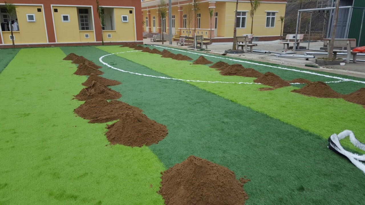 Dự án sân bóng đá cỏ nhân tạo tại Lai Châu 3