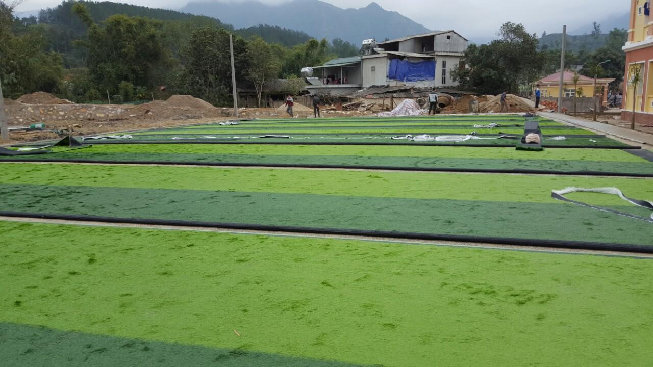 Dự án sân bóng đá cỏ nhân tạo tại Lai Châu 2