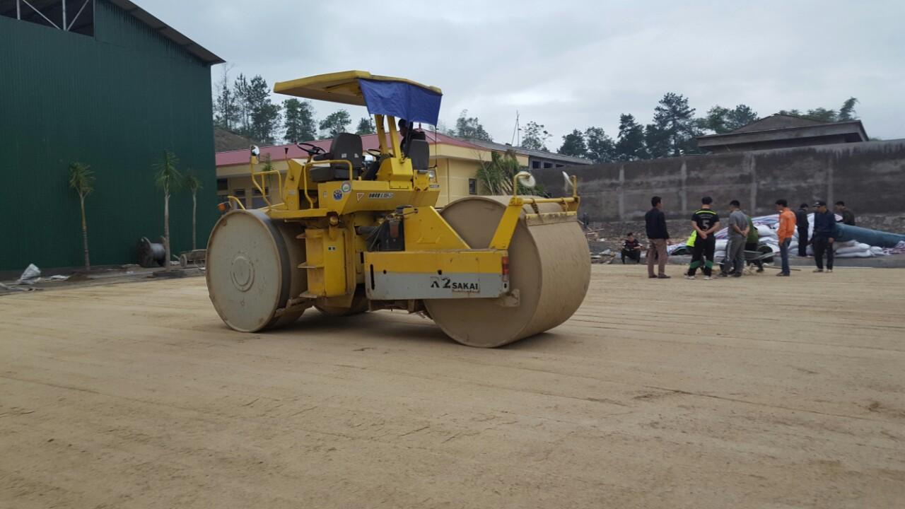 Dự án sân bóng đá cỏ nhân tạo tại Lai Châu 1