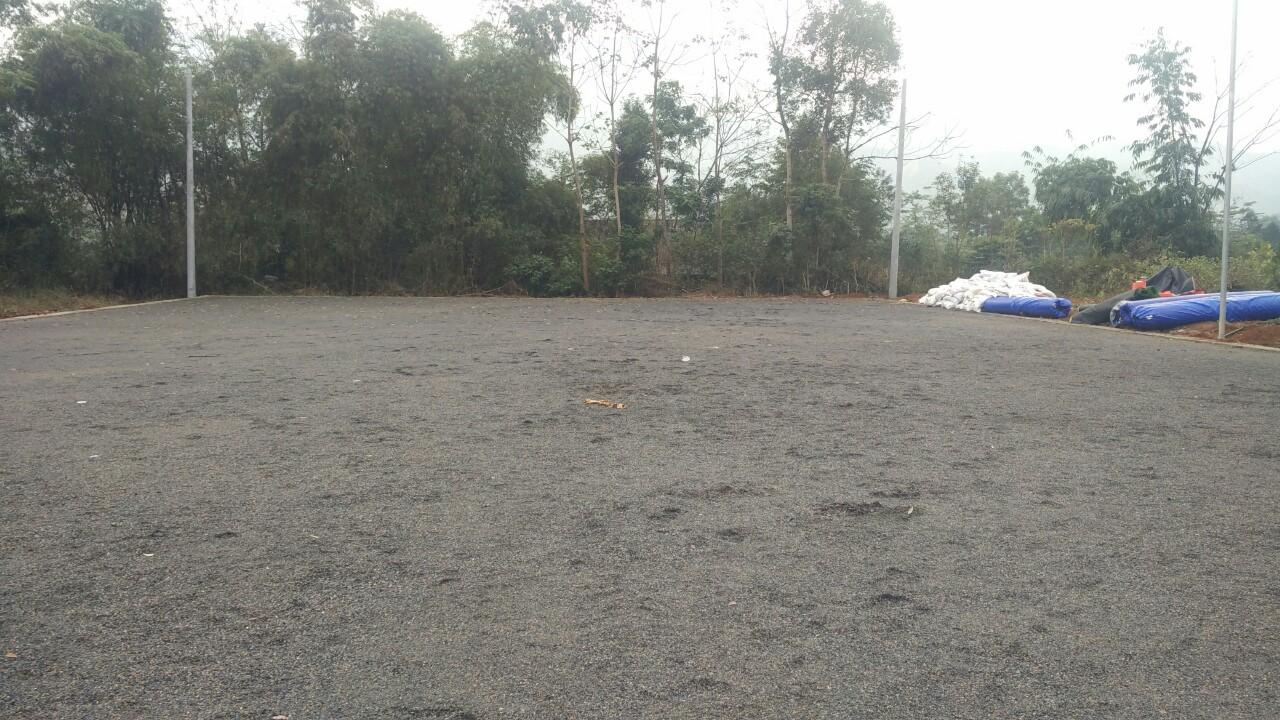 Thi công sân bóng đá cỏ nhân tạo tại Văn Bàn – Lào Cai 1