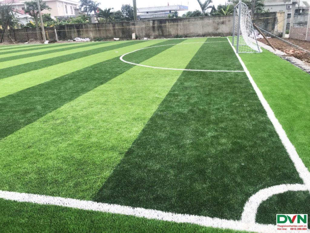 Thi công sân bóng đá cỏ nhân tạo Nam Giang - Nam Định 7