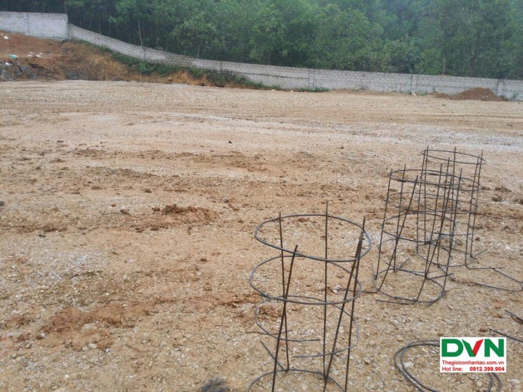 Thi công sân bóng đá cỏ nhân tạo Vĩnh Lộc - Thanh Hóa 5