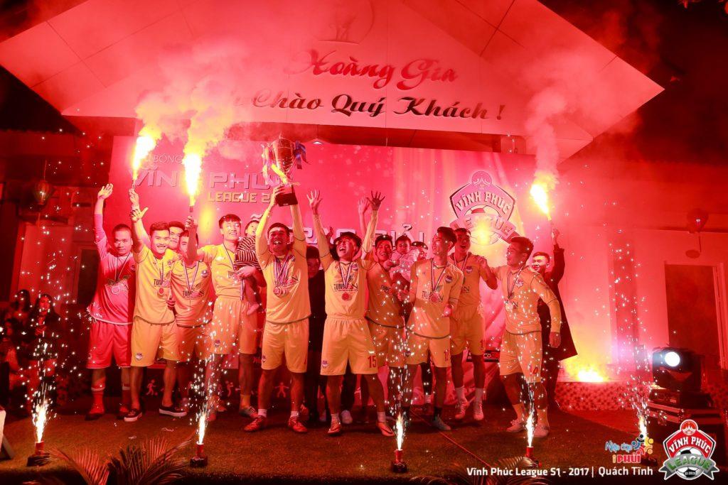 Tùng Ân Hoa Lư vô địch Vĩnh Phúc League 2017 1