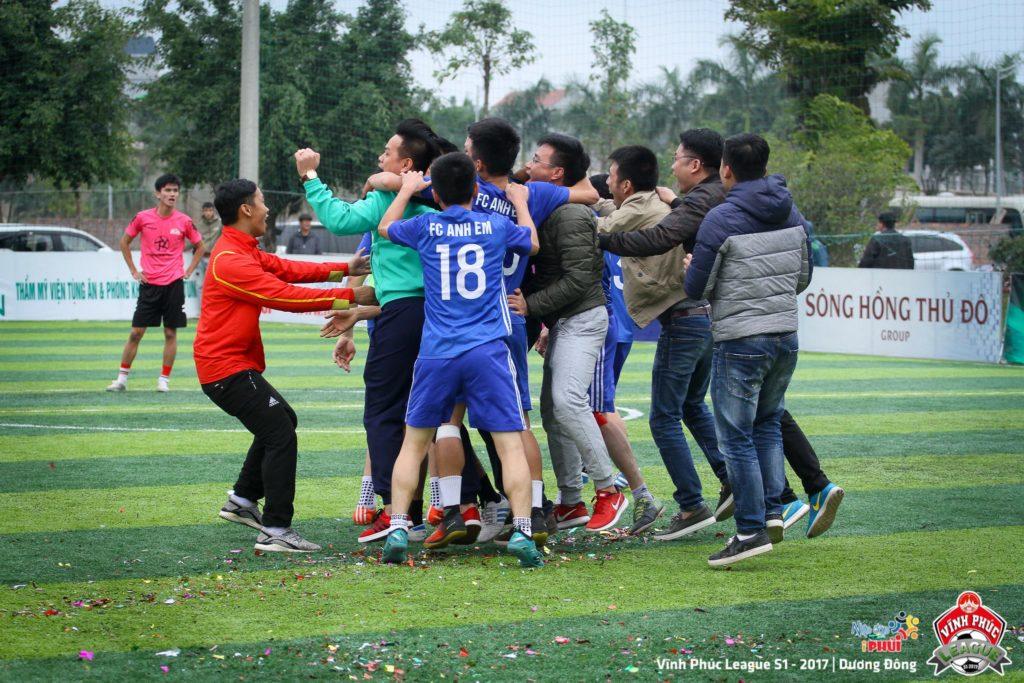 Tùng Ân Hoa Lư vô địch Vĩnh Phúc League 2017 2