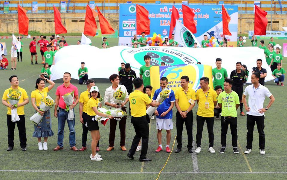 """DVN trở thành nhà tài trợ kim cương giải đấu """"Bóng đá niên khóa 96 -99 Hà Nội – League 2018"""" 2"""
