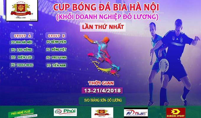 Giải bóng đá khối doanh Nghiệp Đô Lương: Ngày hội ở quê Công Phượng 1