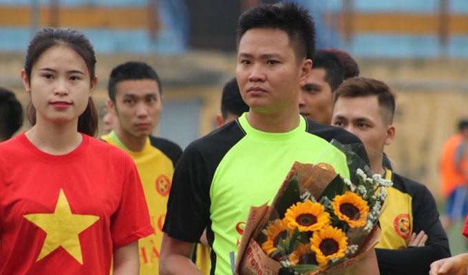 Cựu ngôi sao đội Công an Hà Nội dự giải bóng đá Song Hà 2018 1