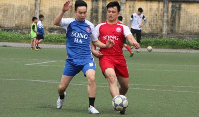 Cựu ngôi sao đội Công an Hà Nội dự giải bóng đá Song Hà 2018 2