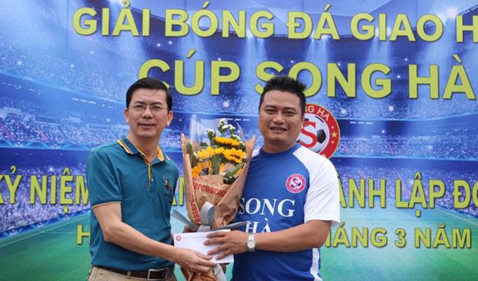 Cựu ngôi sao đội Công an Hà Nội dự giải bóng đá Song Hà 2018 3