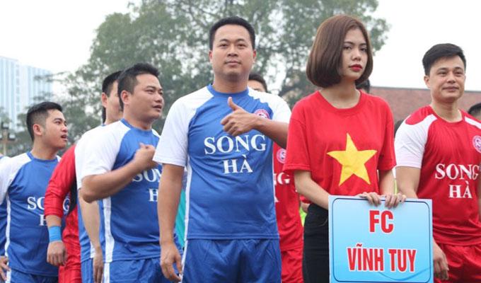 Một số hình ảnh tại giải bóng đá Song Hà 2018 2