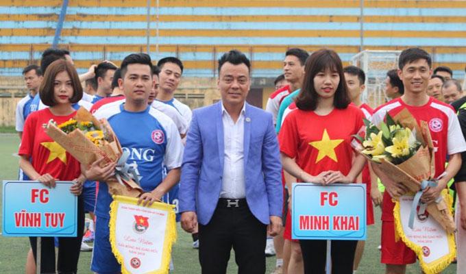 Một số hình ảnh tại giải bóng đá Song Hà 2018 3